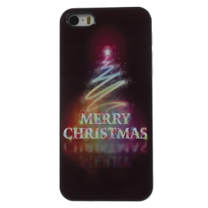 Colorful Christmas Fireworks Aluminium Alloy Skin Hard Shell for iPhone 5 5s
