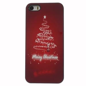 Christmas White Fireworks Aluminium Alloy Skin Hard Back Case for iPhone 5 5s