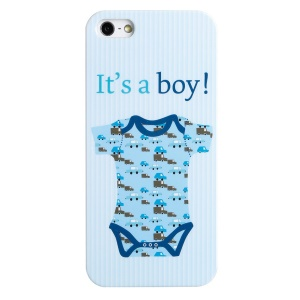 LOFTER Fresh Series IMD Hard Plastic Shell for iPhone 4 4s - Baby Boy Clothing
