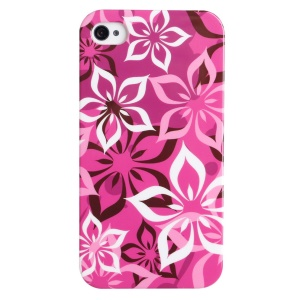 LOFTER for iPhone 5 5s Fresh Series IMD Plastic Hard Shell - Pretty Chinese Redbuds