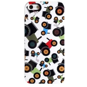 LOFTER Fresh Series IMD Plastic Skin Case for iPhone 5 5s - Cartoon Toy Cars