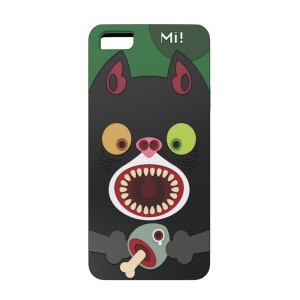 OUNUO Monster Pattern PC + TPU Shell Cover for iPhone 5s 5 - Cat Mi!