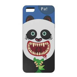 OUNUO for iPhone 5s 5 Monster Pattern PC + TPU Combo Cover - Panda Pa!