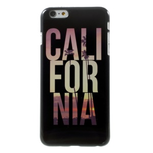 Alphabets California for iPhone 5 Plus Metal Skin Hard Shell Case