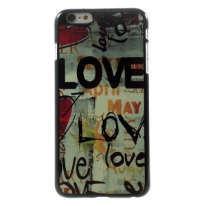 LOVE Characters for iPhone 5 Plus Metal Skin Hard Case Shell