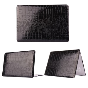 Crocodile Leather Coated Hard Protective Case for MacBook Air 13.3 inch
