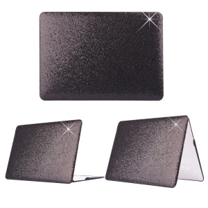 Black Glittery Sequins Skin PC Case for MacBook Air 13.3 inch