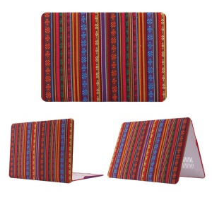 Tribal Flower Leather Coated PC Shell for MacBook Air 13.3 inch