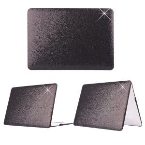 Black Sequins Skin Leather Snap-on Hard Case for MacBook Pro 13.3 Inch Retina Display