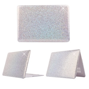 Silver Sequins Skin Leather Snap-on Hard Shell for MacBook Pro 13.3 Inch Retina Display