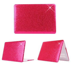 Rose Sequins Skin Leather Snap-on PC Shell for MacBook Pro 13.3 Inch Retina Display