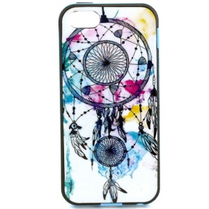 PC Frame + TPU Back Shell for iPhone 5s 5 - Dream Catcher Painting