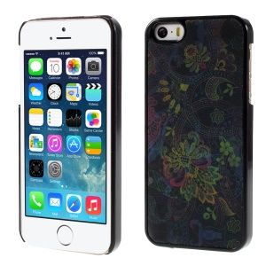 Unique Flower 3D Effect Hard Plastic Shell for iPhone 5/5s