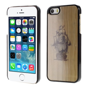 Compass Boat Skull 3D Effect Hard Plasctic Phone Cover for iPhone 5/5s