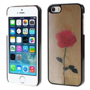 Elegant Rose 3D Effect Hard Plastic Phone Case for iPhone 5/5s