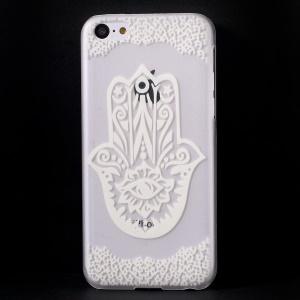 Cartoon Pattern Translucent Hard Case for iPhone 5c