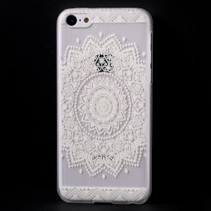 Mandala Pattern Translucent Hard Cover Case for iPhone 5c