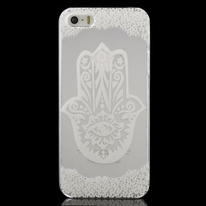 Abstract Pattern Clear Back Case for iPhone 5 / 5s