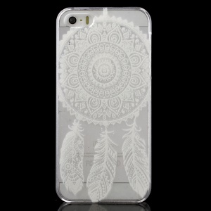 Dream Catcher Pattern Clear Back Cover for iPhone 5 / 5s