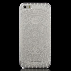 Beautiful Tribal Pattern Clear Back Case for iPhone 5 / 5s