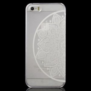 Tribal Mandala Pattern Clear Back Case for iPhone 5 / 5s