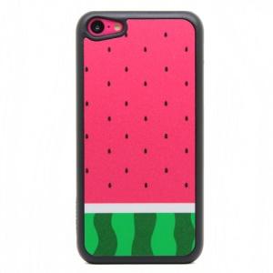 Funny Watermelon Glittery Powder Hard Case for iPhone 5c