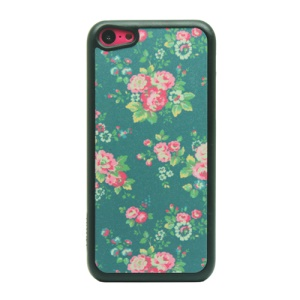 Blooming Flower Powder Hard Phone Cover for iPhone 5c