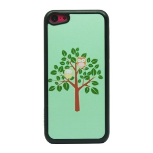 Tree and Birds Powder Hard Phone Shell for iPhone 5c