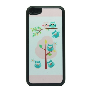 Happy Owls Powder PC Phone Case for iPhone 5c