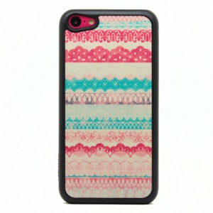 Abstract Pattern Powder Hard Phone Cover for iPhone 5c