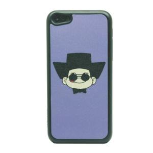 Wearing Hat Boy Glittery Powder Hard Phone Case for iPhone 5c