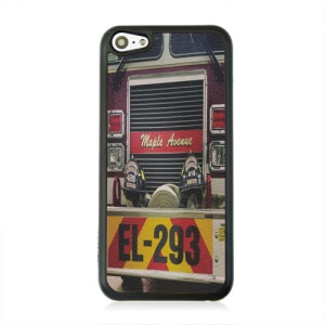 For iPhone 5c Cases, Maple Avernue Leather Coated Hard Cover