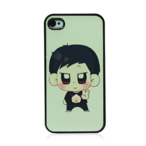 Handsome Boy Hard Plastic Phone Case for iPhone 4 4S