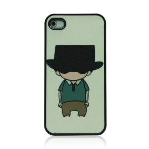 Cool Boy Hard Plastic Back Phone Cover for iPhone 4 4S