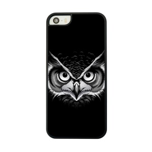 Plastic Back Phone Case for iPhone 5 5s - Owl