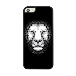 Hard Back Phone Cover Shell for iPhone 5 5s - Lion