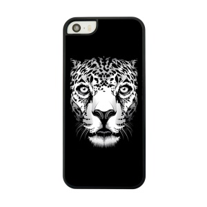Hard Back Phone Case for iPhone 5 5s - Leopard