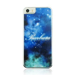 For iPhone 5 5s Plastic Phone Case - Space Pattern