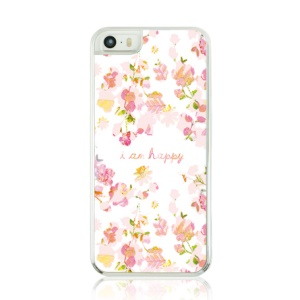 Wildflowers Pattern Plastic Hard Cover Case for iPhone 5 5s