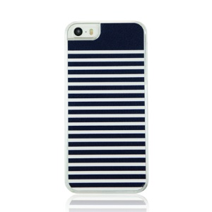 PC Hard Phone Case for iPhone 5 5s - Stripes Pattern