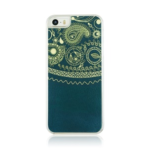 PC Hard Phone Case for iPhone 5 5s - Totem Vein Pattern