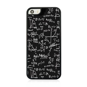 Mathematical Formula Hard Plastic Case for iPhone 5 5s