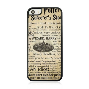 Old Castle and Text Hard Plastic Case for iPhone 5 5s
