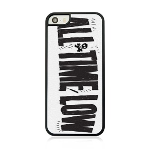 Plastic Hard Phone Case for iPhone 5 5s - Quote ALL TIME LOW
