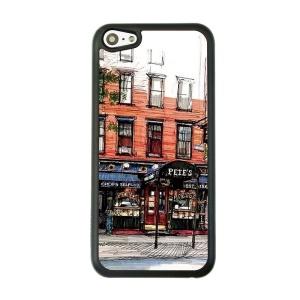 PEIE'S Canopy Painted Hard Plastic Case for iPhone 5c