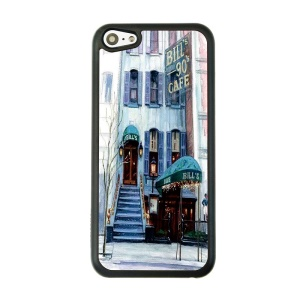 Bill's Cafe Hard Plastic Phone Case for iPhone 5c
