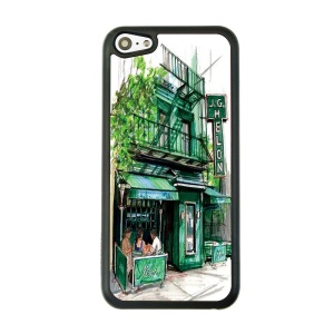 JG Melon Place Hard Plastic Phone Cover for iPhone 5c