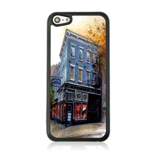 Hotel Building Protective Plastic Back Case for iPhone 5c