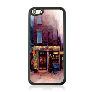 Cozy Store Protective Plastic Back Cover for iPhone 5c