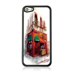 Retail Store Hard Plastic Phone Case for iPhone 5c